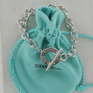 Tiffany New York Toggle Round Chain Bracelet